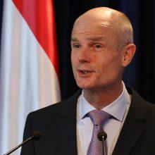 Lietuvoje lankosi Nyderlandų užsienio reikalų ministras