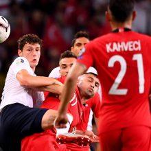 Turkija tėškė antausį pasaulio čempionams