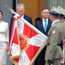 G. Nausėda sveikina Lenkiją ir ją vadina viena artimiausių sąjungininkių