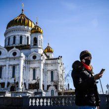 Maskvoje izoliuotis nurodyta visiems, nepriklausomai nuo amžiaus
