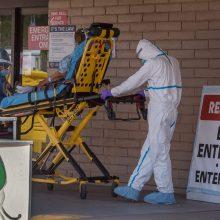 JAV per parą patvirtinti 638 nauji mirties nuo COVID-19 atvejai