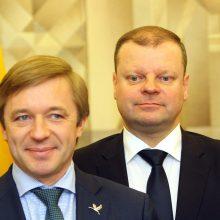 """""""Valstiečiai"""" kandidatu į prezidentus siūlo kelti S. Skvernelį"""