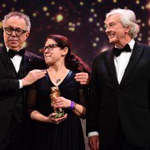 """Berlyno festivalio """"Auksinį lokį"""" pelnė vengrų filmas """"Kūnas ir siela"""""""