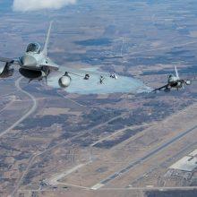 Baltijos šalių oro erdvę saugos Belgijos, Danijos ir Čekijos naikintuvai