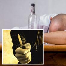 Pensininkas švaistėsi peiliu: vienas sugėrovų – ligoninėje, kitas – areštinėje