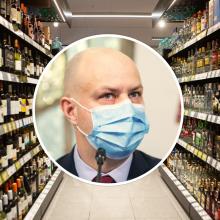 A. Veryga: alkoholio vartojimo ir pardavimo pakeitimai – ne laiku ir ne vietoje