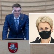 Dėl pareigūnų veiksmų prieš M. Puidoką į Seimą iškviesta generalinė prokurorė
