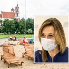 V. Čmilytė-Nielsen: ne Seimo reikalas, ką Lukiškių aikštėje statys savivaldybė