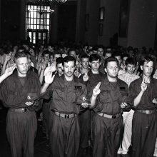 Krašto apsaugos savanorių pajėgos mini įkūrimo trisdešimtmetį