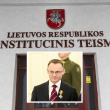 Seimo pirmininkė į Konstitucinį Teismą teikia V. Mizaro kandidatūrą