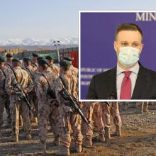 G. Landsbergis Lietuvos kariams Afganistane padėjusiems vertėjams žada prieglobstį