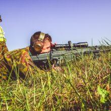 NATO šalių snaiperiai Lietuvoje varžysis dėl taikliausiojo titulo