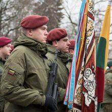 Lietuvos vadovai sveikina Krašto apsaugos savanorių pajėgas 30-mečio proga