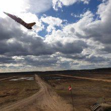 Kazlų Rūdoje treniravosi Lietuvos ir JAV karinės oro pajėgos