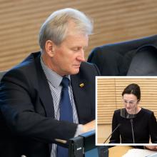 Seimo pirmininkė: K. Glaveckas paliko ryškų pėdsaką šalies politikoje ir ekonomikoje