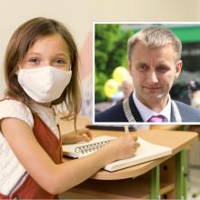 Šiaulių meras: pradinukai klasėse liks, testuosis tik norintieji