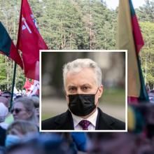 Prezidento sveikinimą Šeimų marše Seimo atstovai suprato skirtingai