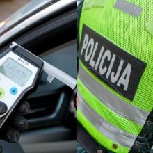 Šiaulių rajone neblaivus prie vairo įkliuvo policininkas: uždarytas į areštinę