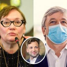 A. Maldeikienė kaltina R. Karbauskį priekabiavimu dėl lytinės orientacijos: prašo įvertinti elgesį