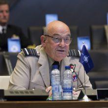 Lietuvoje lankysis NATO karinio komiteto pirmininkas