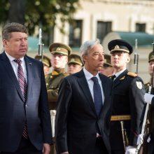 R. Karoblis dėkoja Portugalijai už indėlį saugant regioną