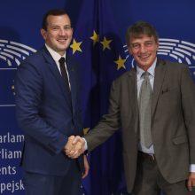Europarlamentarai įvardijo didžiausius iššūkius V. Sinkevičiui