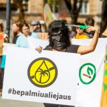 Keturiolika Lietuvos organizacijų ragina riboti palmių aliejaus naudojimą