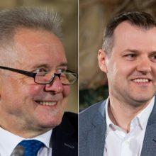 Dėl socialdemokratų pirmininko posto rungsis G. Paluckas ir A. Sysas