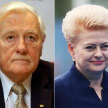 Palankiausiai vertinamos asmenybės – V. Adamkus ir D. Grybauskaitė