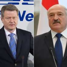 A. Lukašenka susitiko su R. Paksu: Baltarusija nori draugiškų santykių