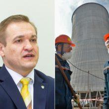 Ministras: sostinės valdžia be reikalo kelia paniką vilniečiams dėl Astravo