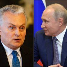G. Nausėda: kalbėti su V. Putinu šiuo metu nėra apie ką