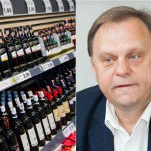 V. Sutkus palaiko siūlymą ilginti prekybos alkoholiu laiką