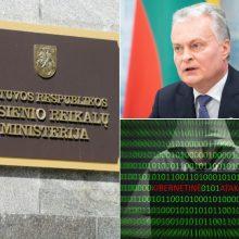 URM patyrė programišių ataką: išplatinta melaginga žinia apie G. Nausėdos prašymą JAV