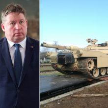 R. Karoblis ramina Baltarusiją: JAV batalionas dislokuotas pratyboms