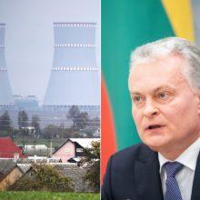 Seime – G. Nausėdos siūlymai, kaip neįsileisti Astravo jėgainės elektros