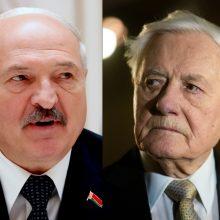 V. Adamkus apie sukilėlių laidotuves: A. Lukašenka elgiasi nenuoširdžiai