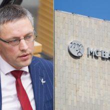 """""""MG Baltic"""" byloje prieš valstybę atsakovu įtraukė V. Baką"""