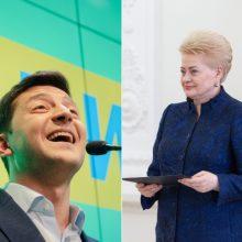 D. Grybauskaitė dalyvaus Ukrainos prezidento V. Zelenskio inauguracijoje