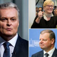 Balandžio 8-ąją – pirmieji G. Nausėdos, S. Skvernelio ir I. Šimonytės debatai