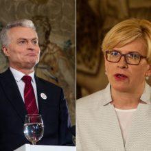 Kandidatų į prezidentus štabai susikirto dėl klausimų apie pinigus