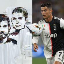 Vilnius futbolo garsenybei C. Ronaldo parengė įspūdingą staigmeną