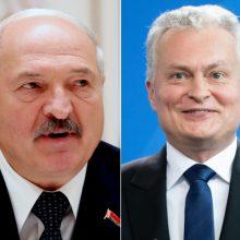 Prezidentūra: bendrauti su Baltarusija nebūtinai reiškia kviestis A. Lukašenką