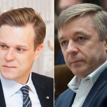 G. Landsbergis: R. Karbauskis daro spaudimą VRK