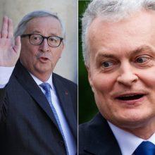G. Nausėda sulaukė sveikinimų ir iš Europos Komisijos pirmininko