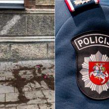 Policija pradėjo tyrimą dėl svastikos prie žydų bendruomenės būstinės