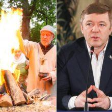 R. Karbauskis: mes pasikėsinome į žmonių tikėjimo laisvę