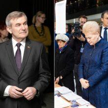 V. Pranckietis: D. Grybauskaitė rodo blogą pavyzdį