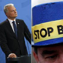 """G. Nausėda: """"Brexitas"""" be susitarimo gali sulėtinti Lietuvos ekonomiką"""