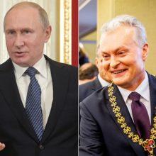 V. Putinas pasveikino naują Lietuvos prezidentą G. Nausėdą